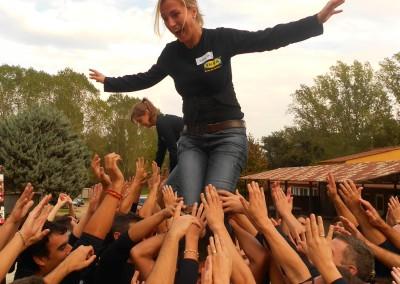 Obrint Via_Incentives_Events_Castellers Workshop_La Granja_Montseny_Barcelona_28
