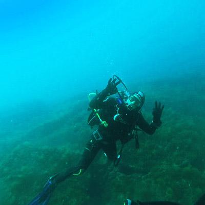 Scuba-dives